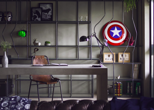 The Avengers Themed Workspace